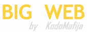 BigWeb Web Development Agency Logo